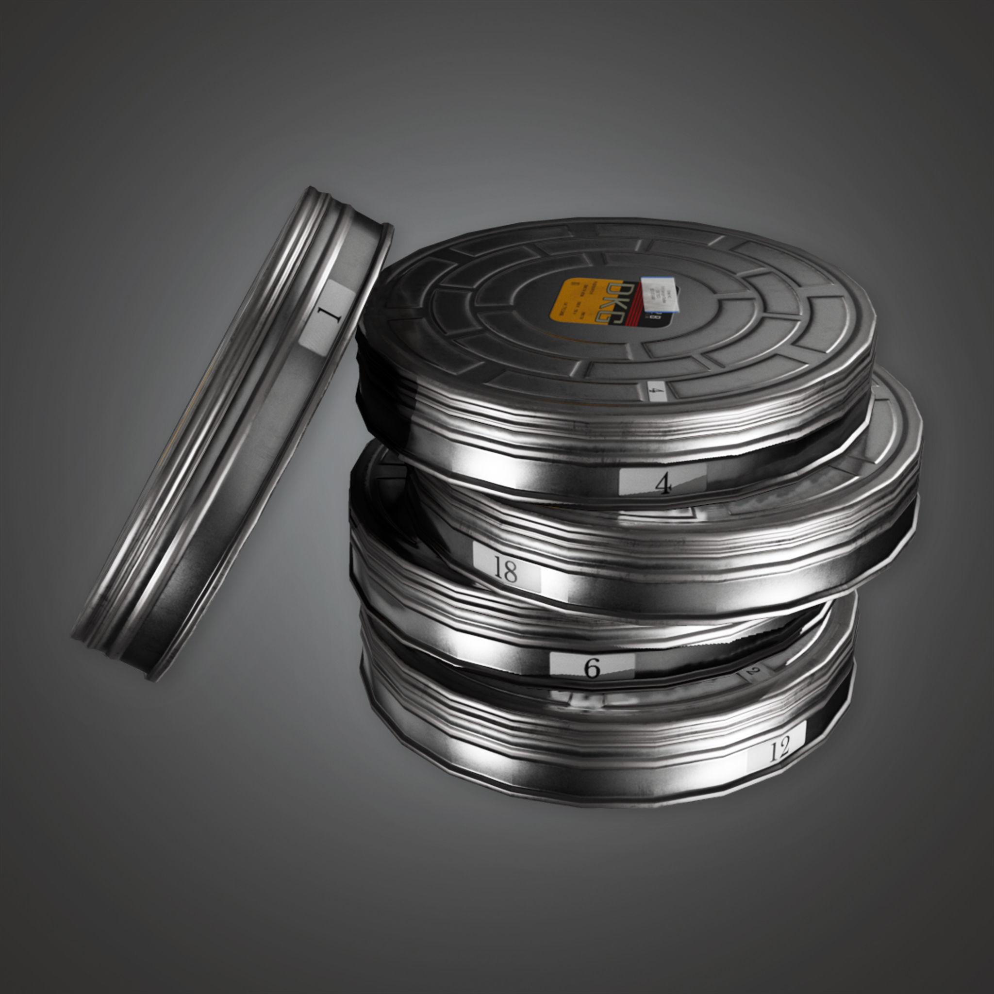 HLW - Film Briefcase - PBR Game Ready