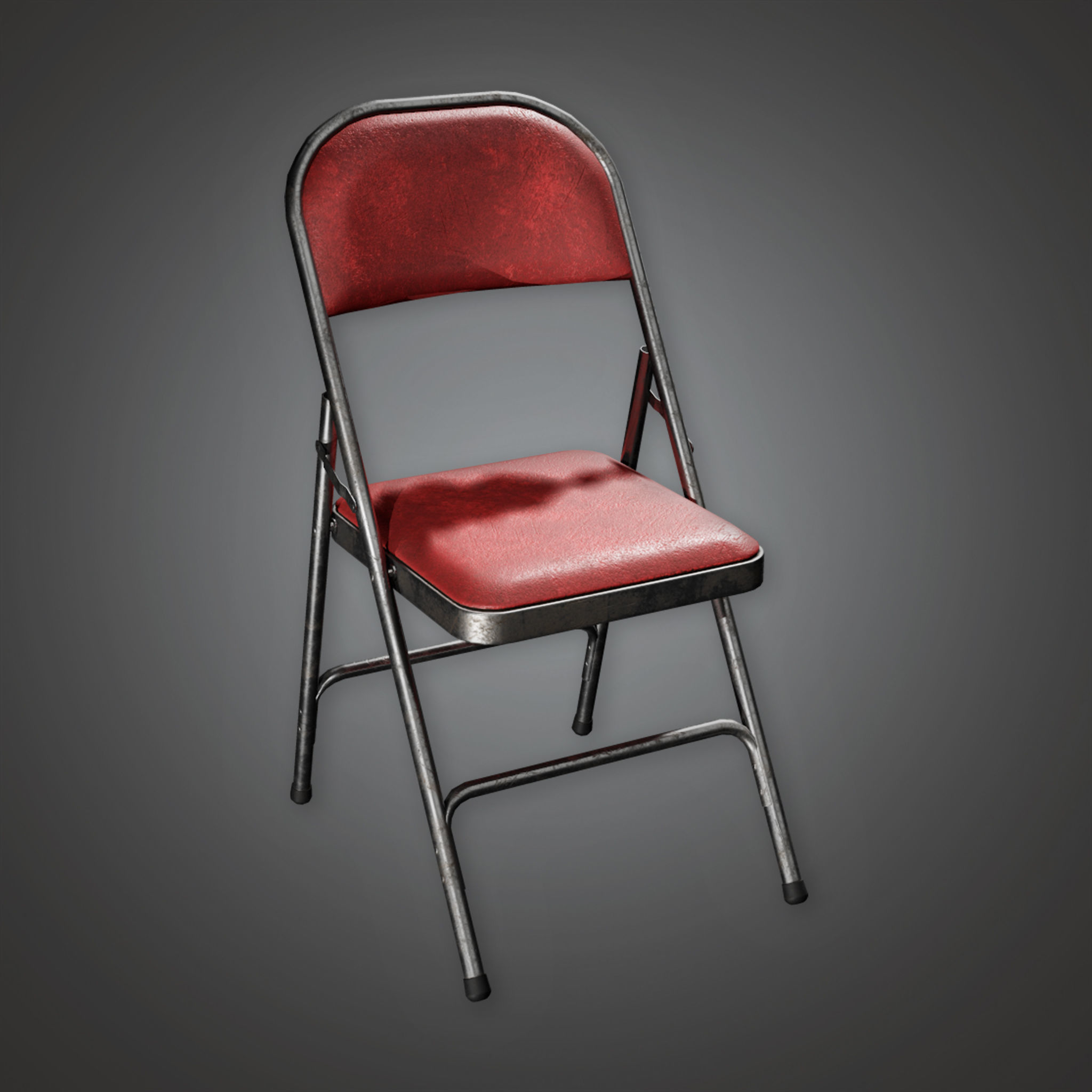HLW - Folding Chair 02 - PBR Game Ready