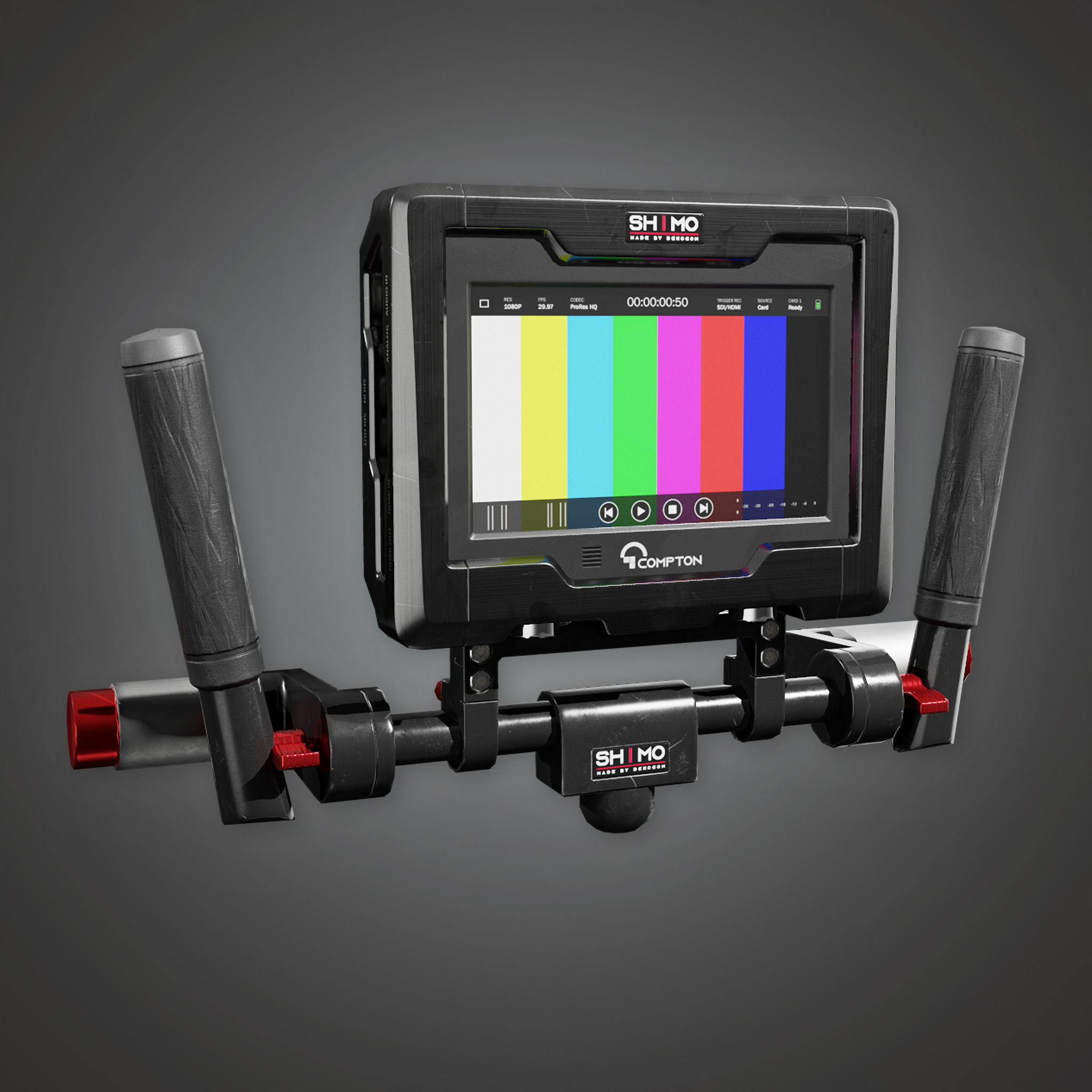 HLW - Assist Monitor 01 - PBR Game Ready