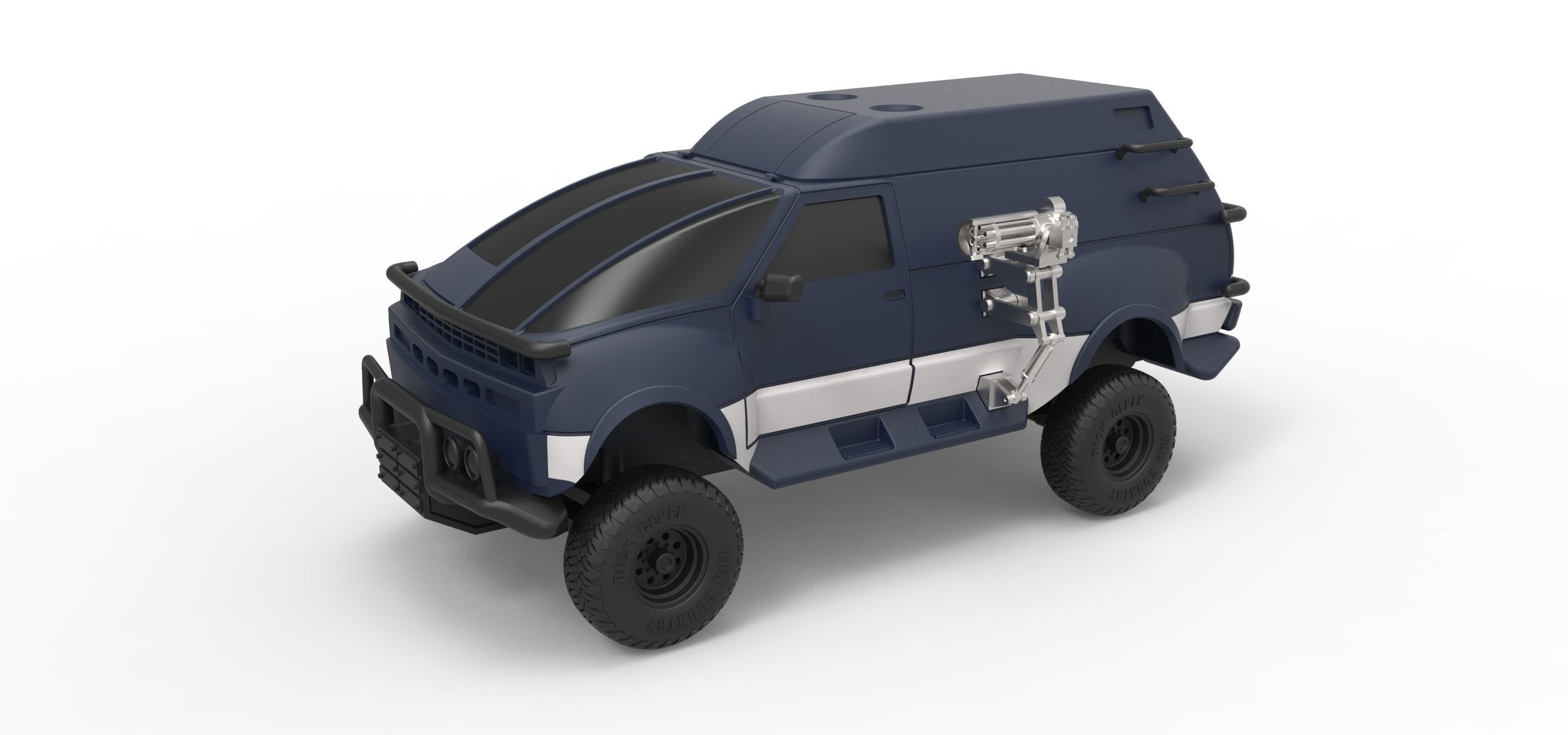 Diecast model RV from Hell from Tango and Cash Scale 1 to 24