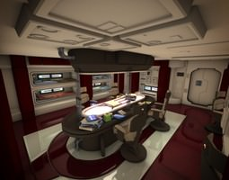 Spacecraft Interior HD 2 3D