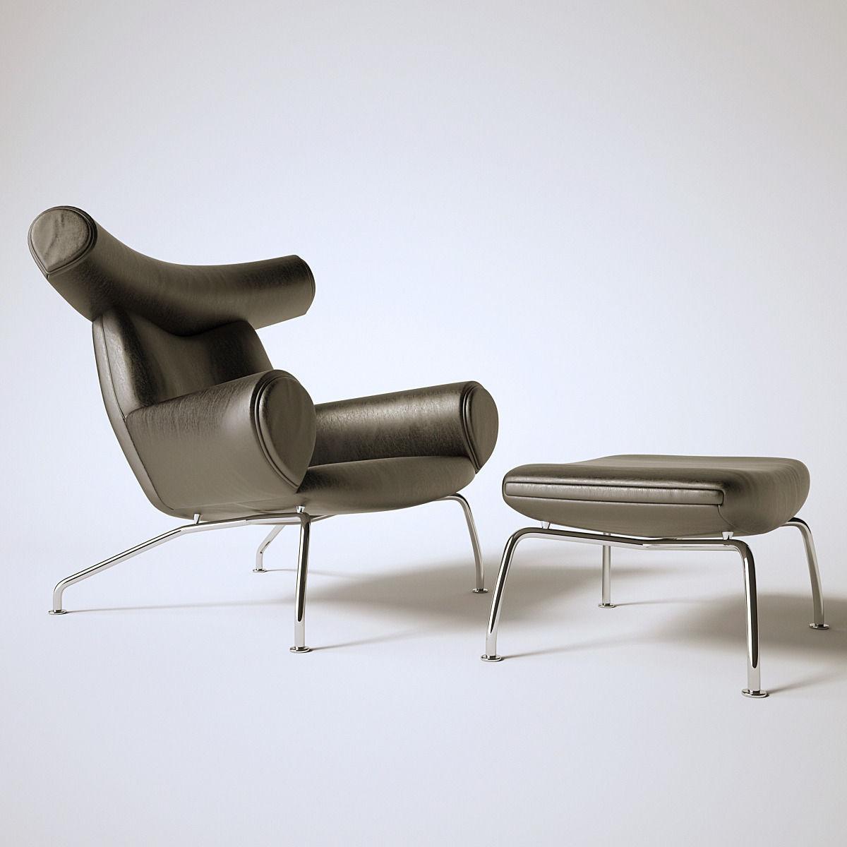 ... Ox Chair 3d Model Max Obj 3ds Fbx Mtl 4 ...