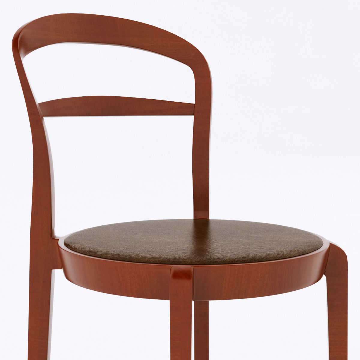 calligaris cloe chair 3d model max obj 3ds fbx. Black Bedroom Furniture Sets. Home Design Ideas
