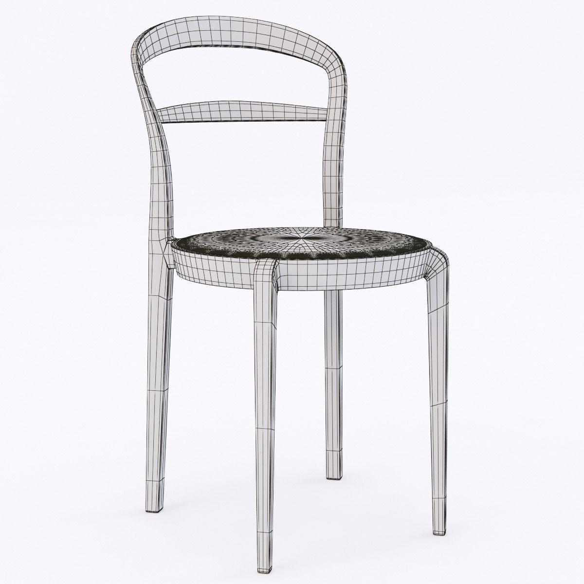 Calligaris cloe chair 3d model max obj 3ds fbx for Calligaris rende