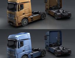 Mercedes Actros 3D Model