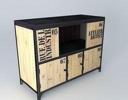 Wharves 3d models - Buffet maison du monde ...