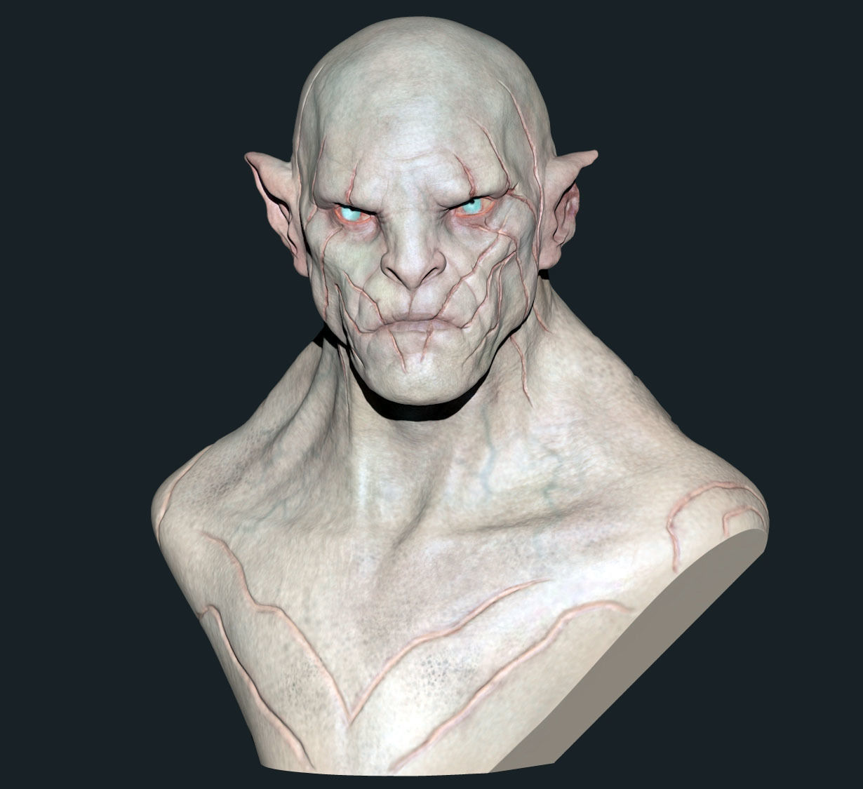 Azog Bust - Colored