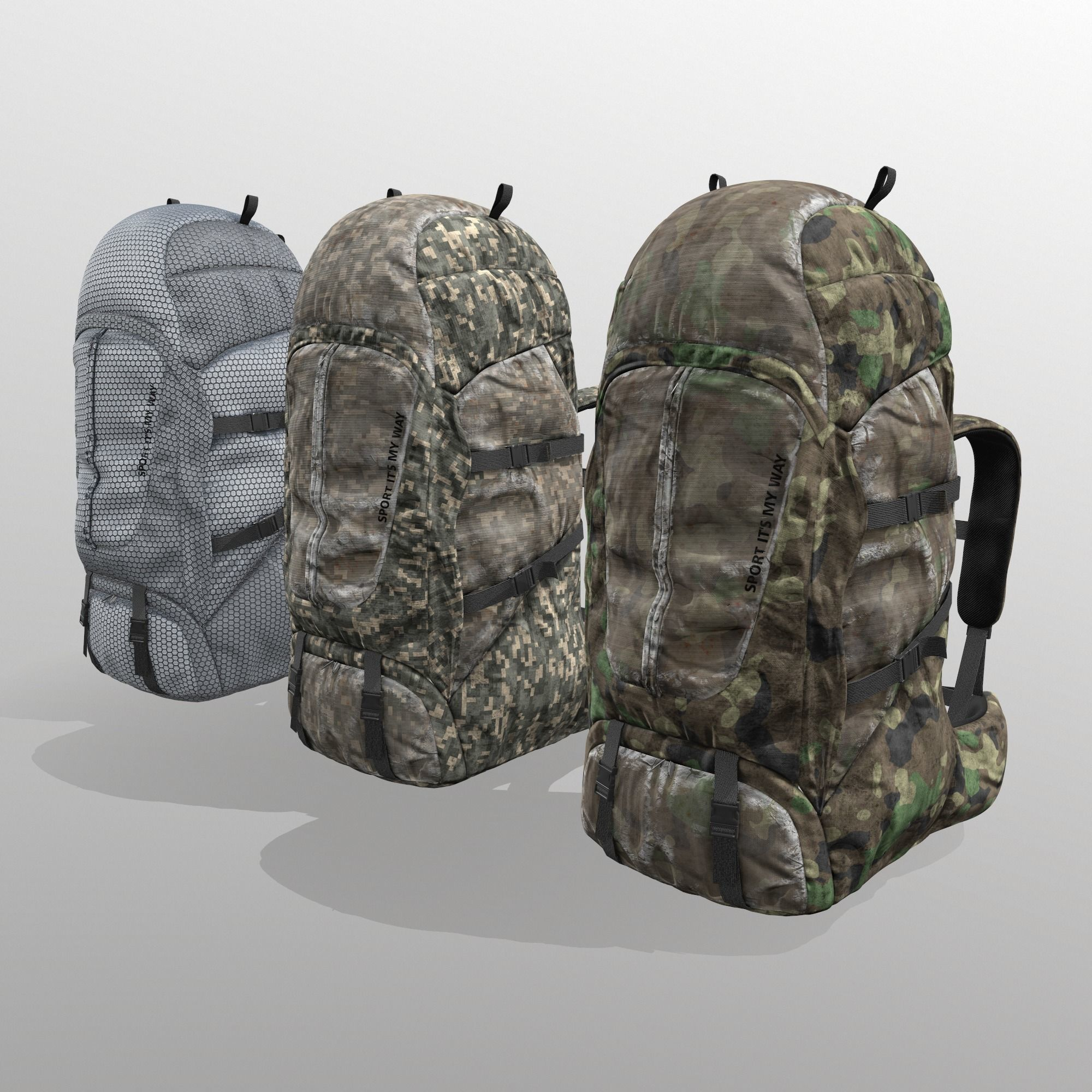 Backpack for hunting hiking traveling