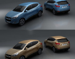 3D model Hyundai ix35