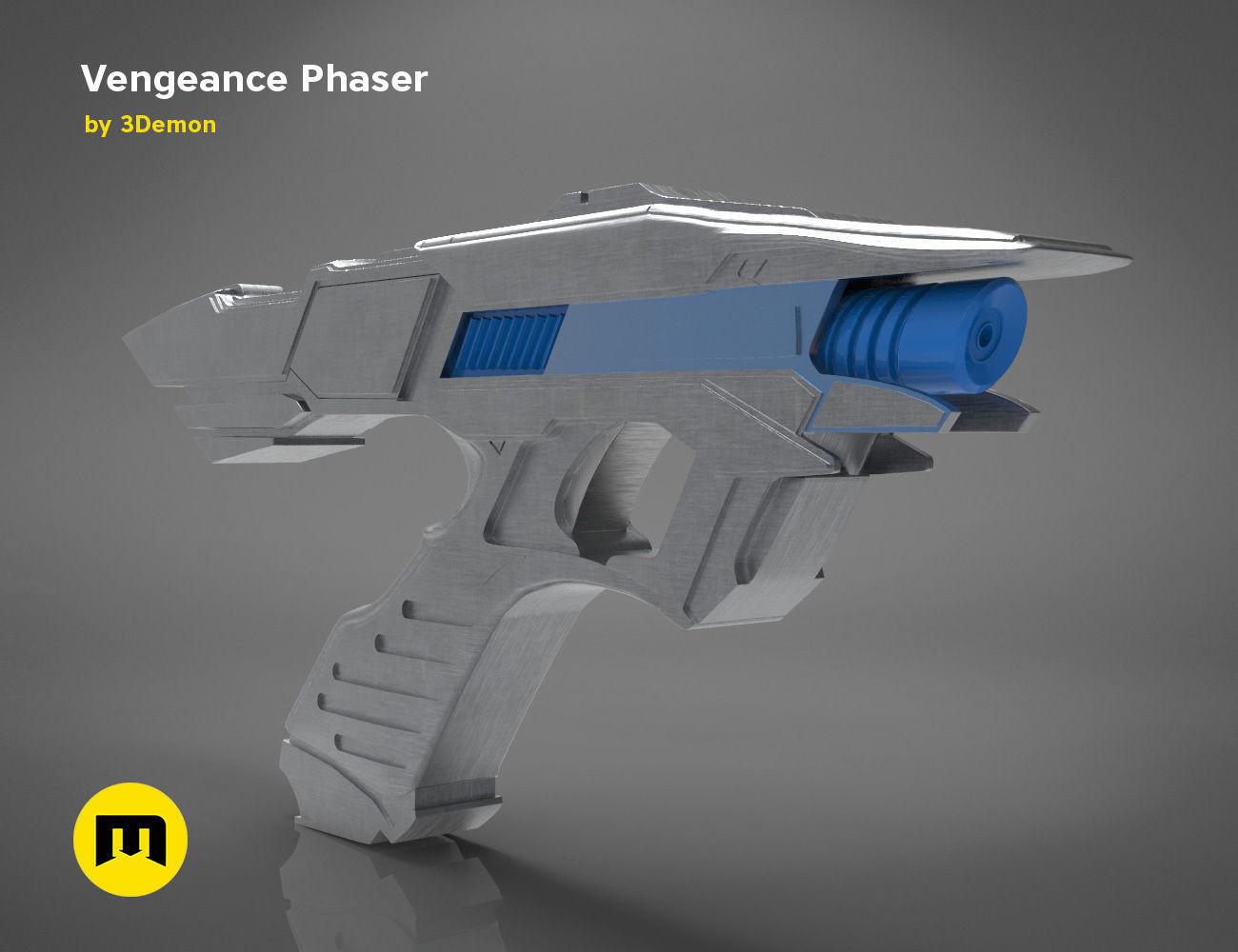 Vengeance Phaser - Star Trek