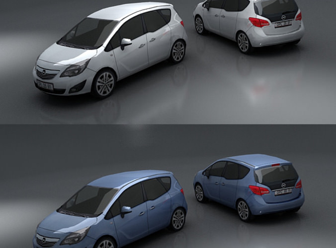 Opel Meriva3D model