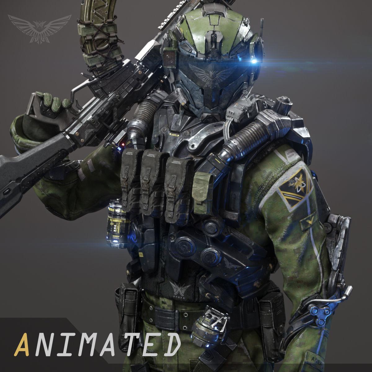 SCIFI - ASSAULT SOLDIER