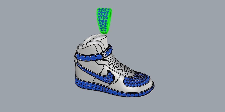nike air jordan pendant | 3D Print Model