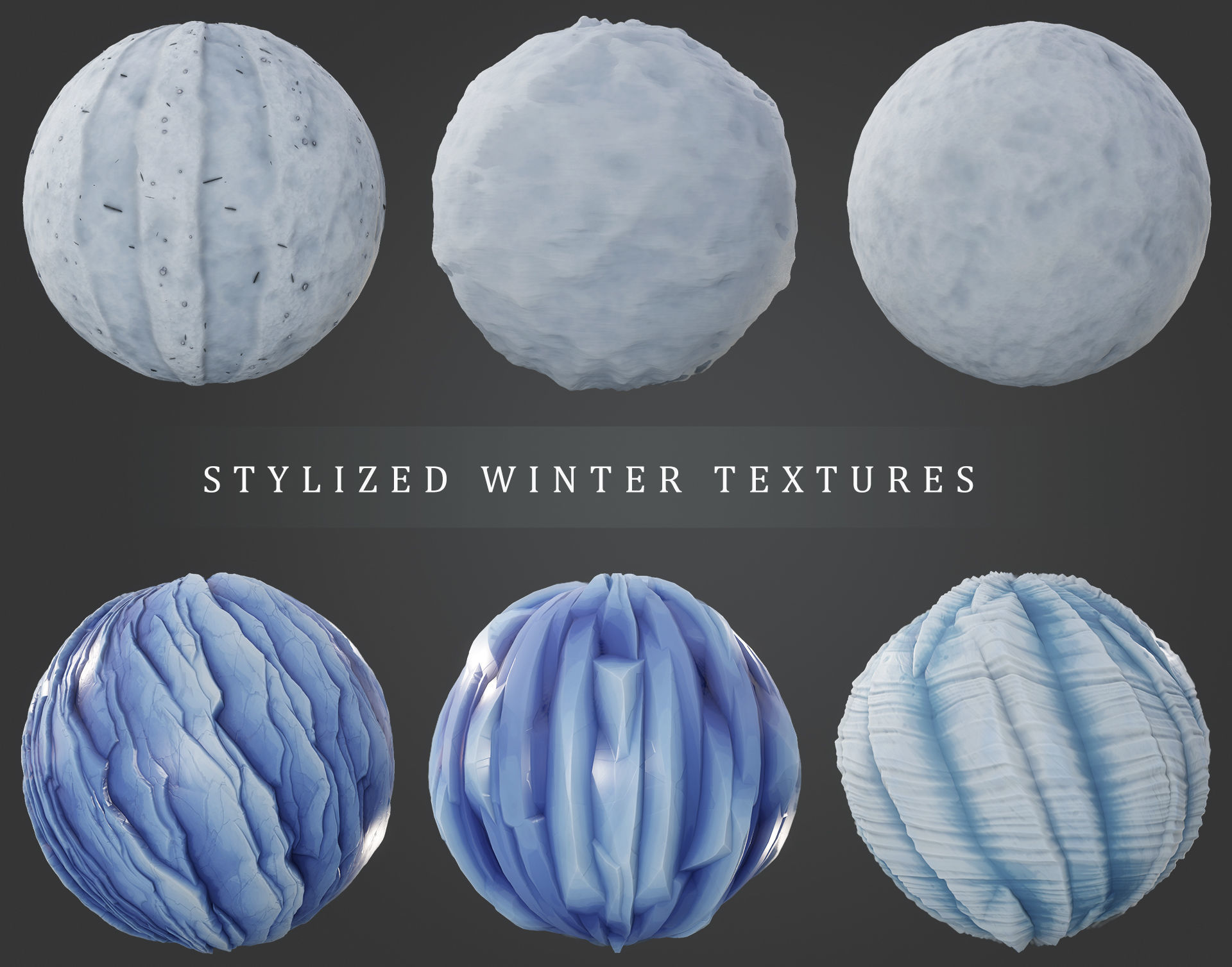 Stylized Winter Texture Pack