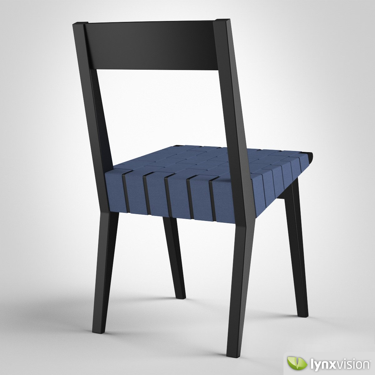 ... Risom Side Chair 3d Model Max Obj Fbx Mtl 3 ...