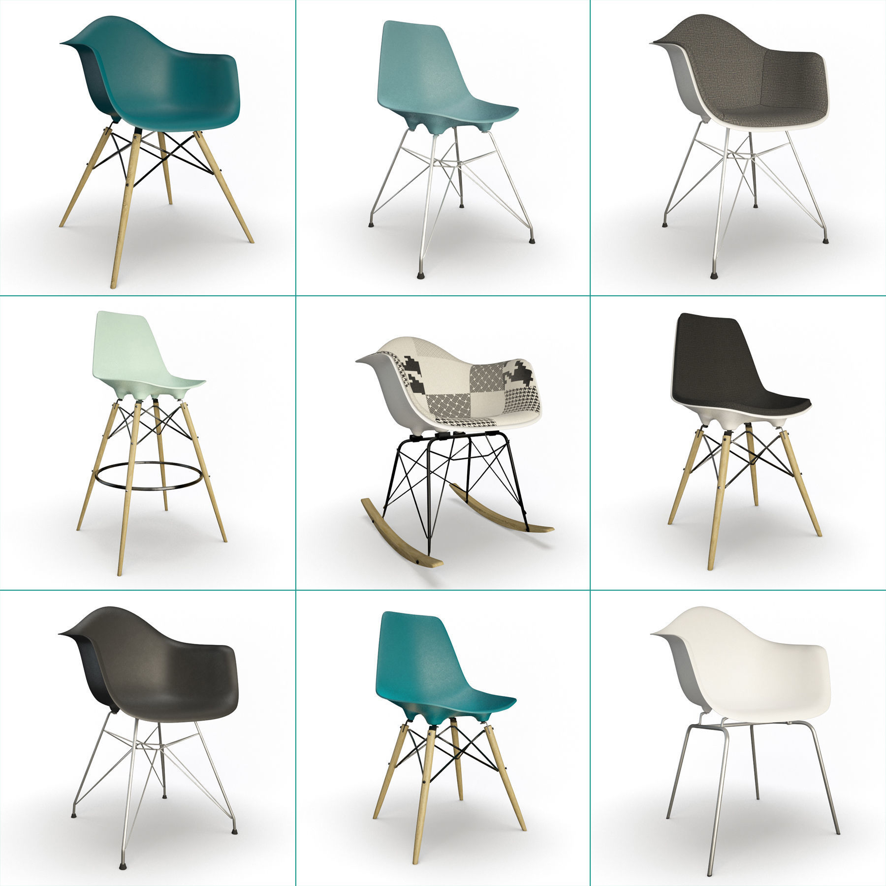 Eames Furniture Collection Vitra