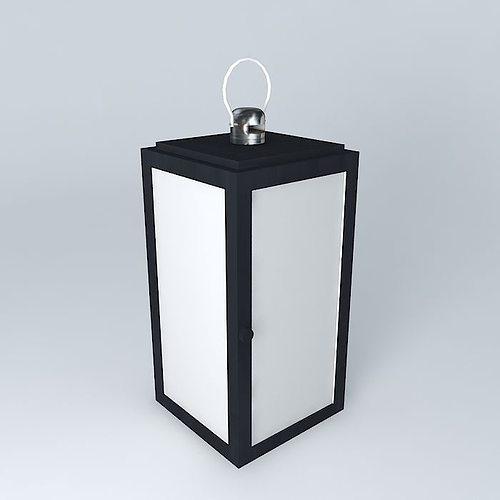 Maison Du Monde Lanterne.Black Lantern Maisons Du Monde 3d Model Cgtrader