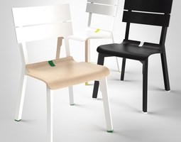 3D model Rotterdam Chair