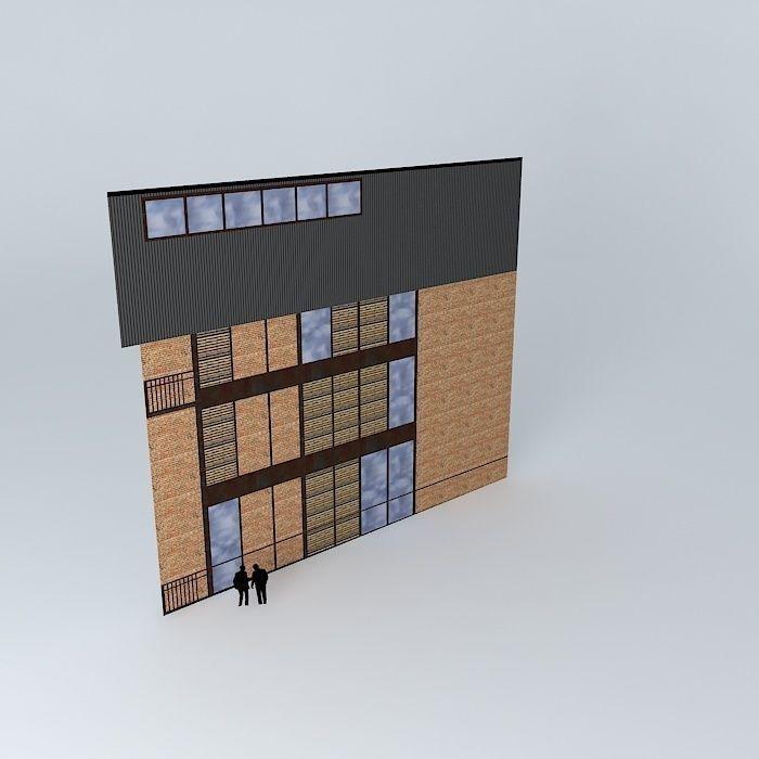 Fr d ric tabary world facade houses 3d model max obj - Frederic tabary ...