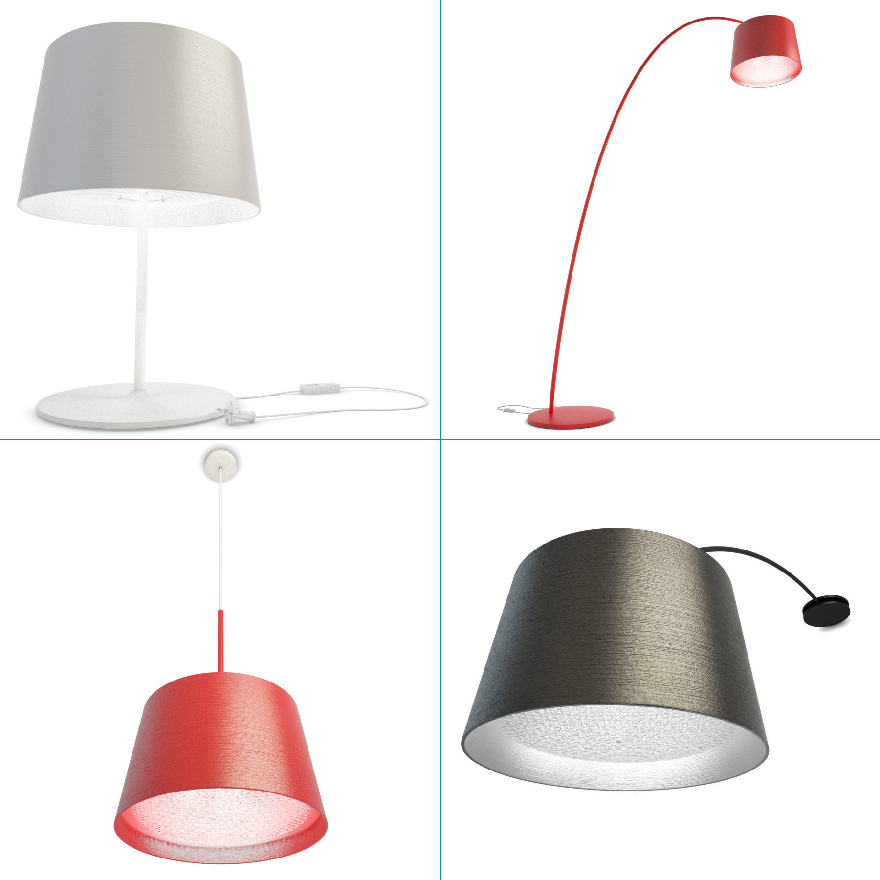 Twiggy Lamps Collection Foscarini