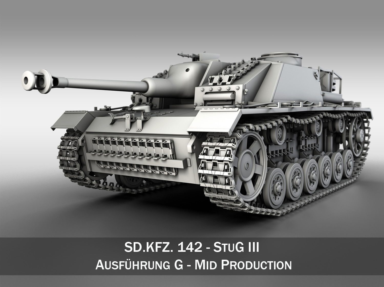 StuG III  Ausf G Mid Production