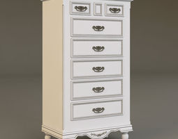 Country Corner bureau 3D Model