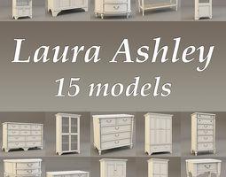 Laura Ashley 15 models collection 3D Model