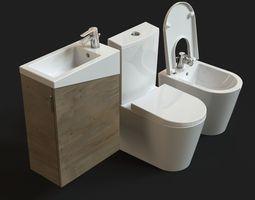 Urb Y Plus Sanitaryware FREE model 3D Model
