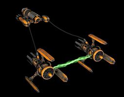 Pod Racer Star Wars 3D Model
