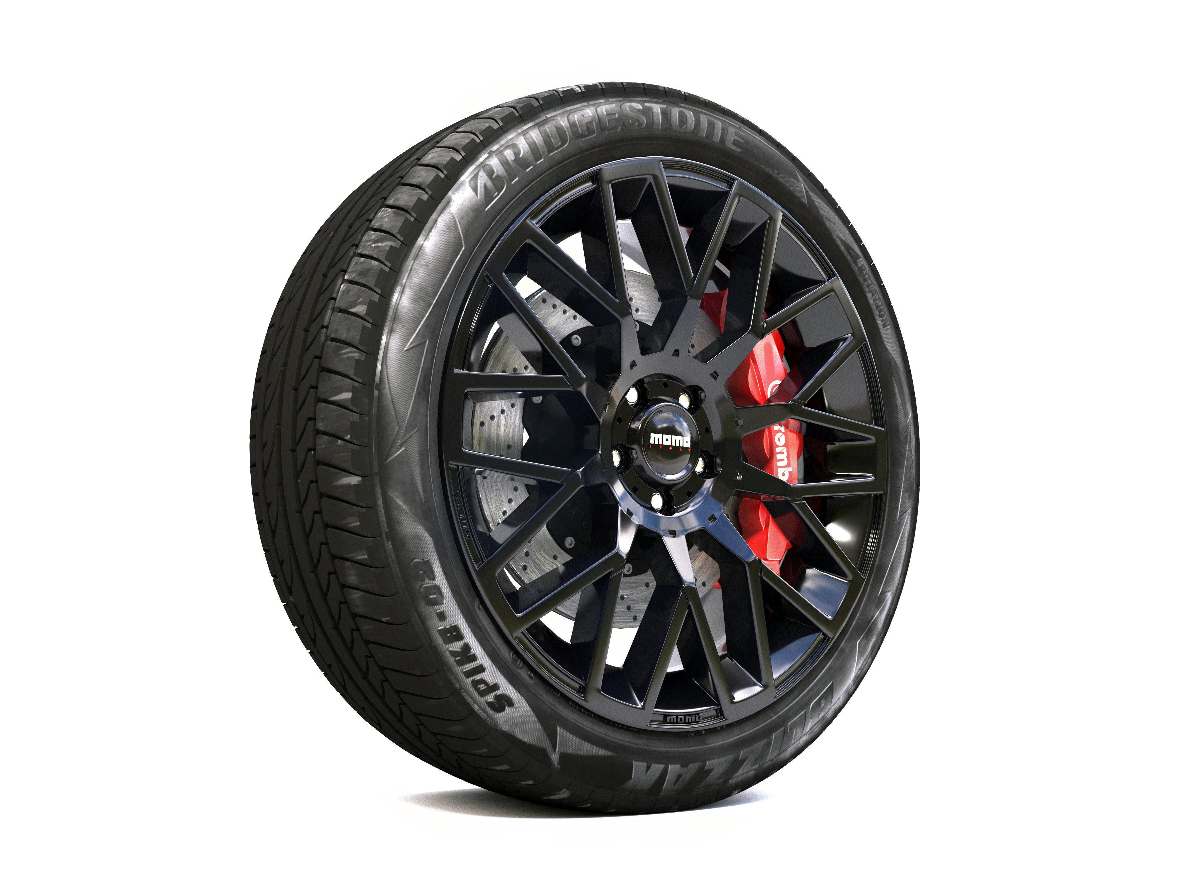 Disk Wheel 3d model