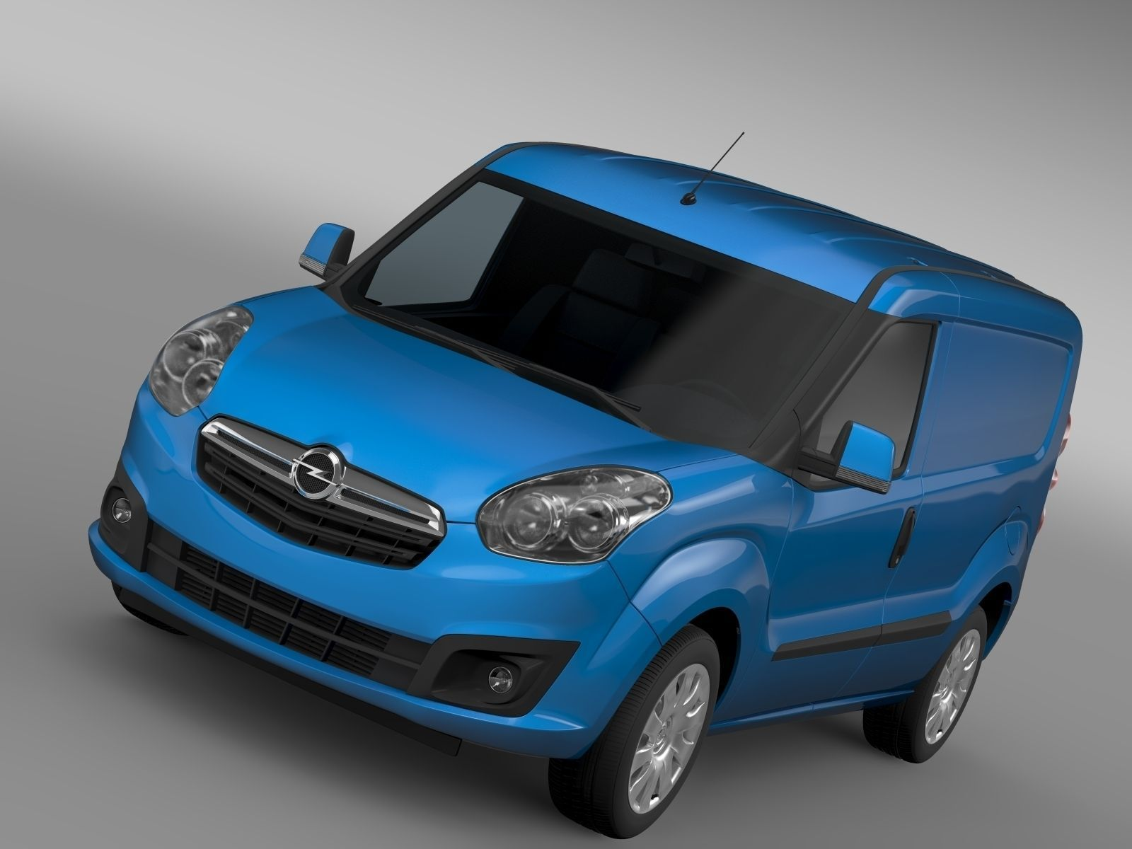 Opel Combo Swb Cargo 2015 D 3d Cgtrader