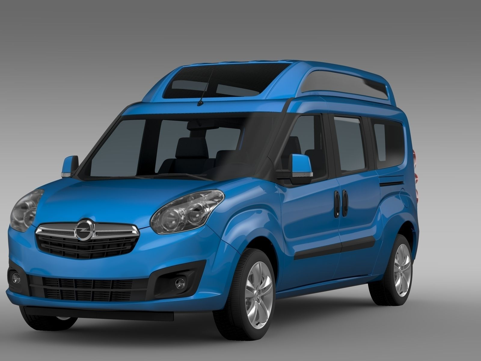 opel combo tour high roof lwb d 2015 3d model max obj 3ds fbx c4d lwo lw lws cgtrader