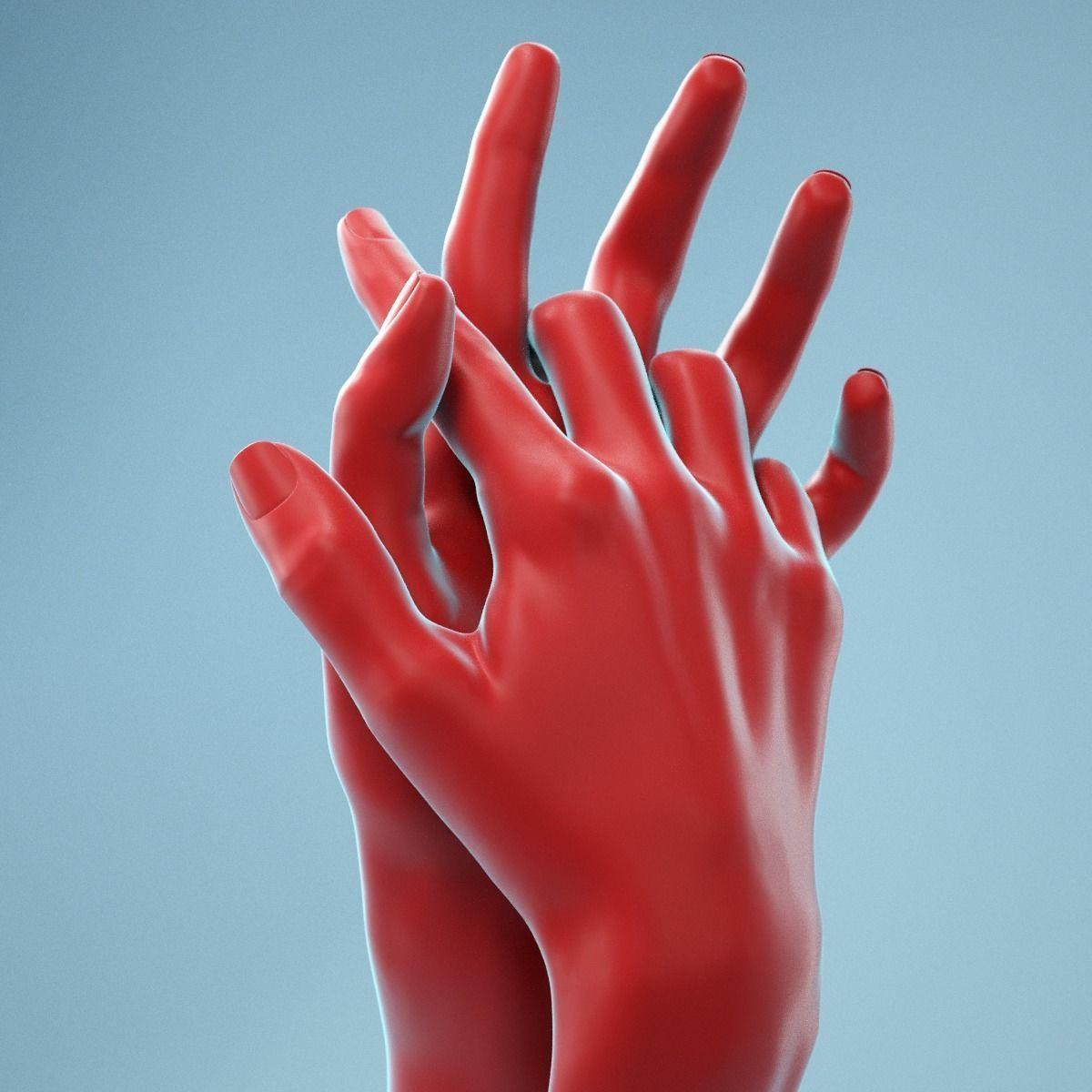 Interwoven Realistic Hand Model 18