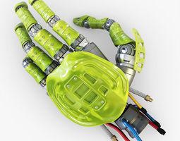 Bio robotic hand v 4 3D Model
