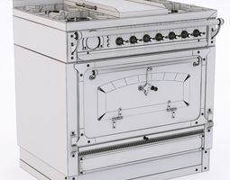 3d model restart elg104 cooking block felix royal