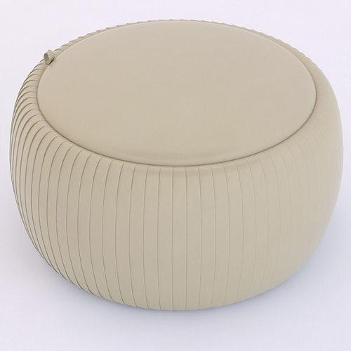 tonin casa plisse tavolino ottoman 3d model max obj 3ds fbx mtl x 1