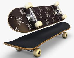 Skateboard v 4 3D Model