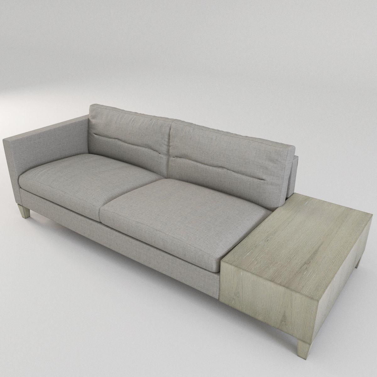 Bernhardt Sovrano Left Arm Sofa Seating