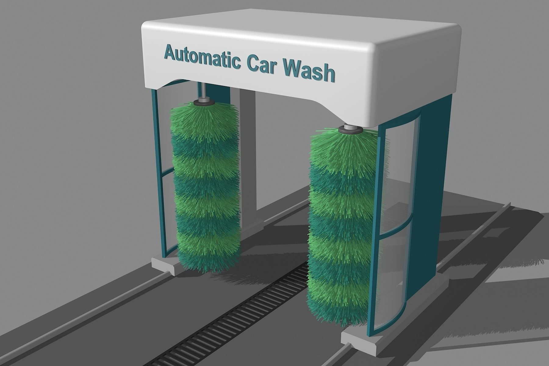 The Simple Automatic Car Wash Machine