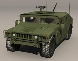 Hummer Green 3D Model