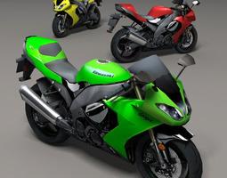 Kawasaki Ninja 3D model