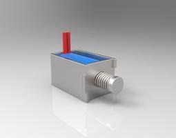 3D model DOWONSOL DC3V Mini Solenoid