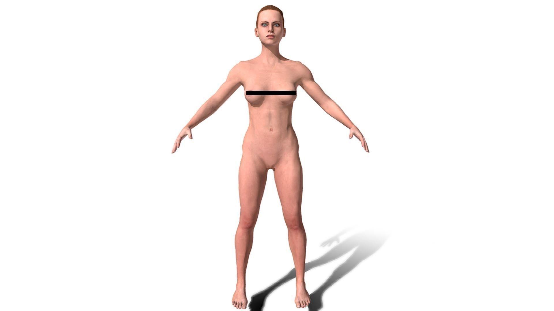Model 3D nago murzynki lesbijki cipki szlifowanie