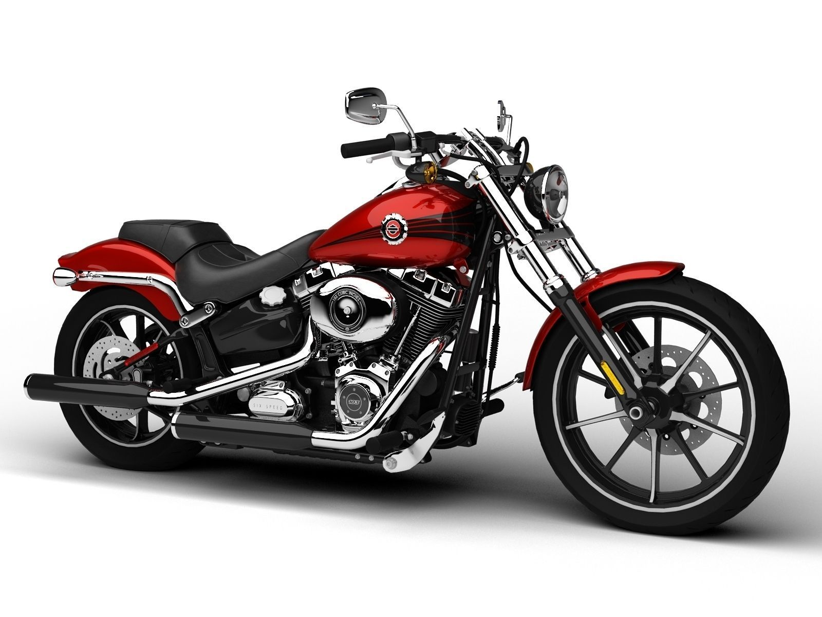Harley Davidson Softail Breakout Fxsb Parts