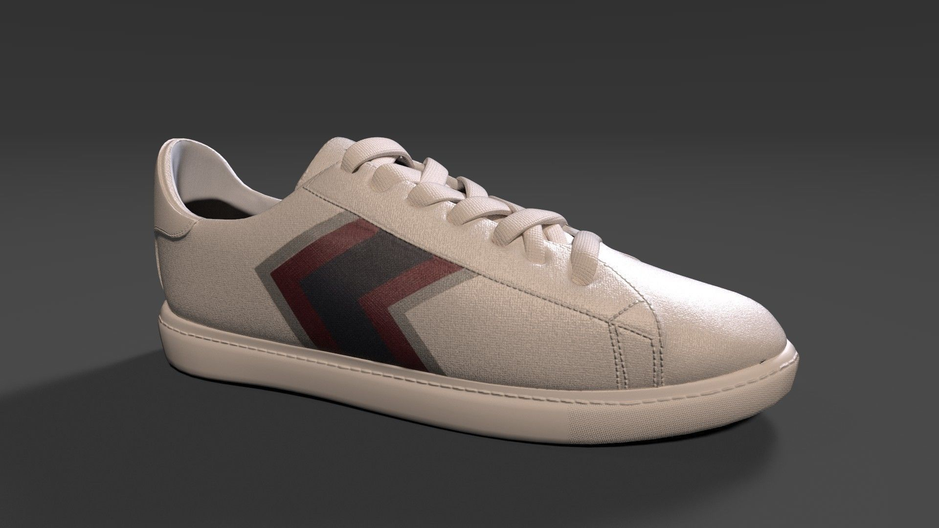 Armani Exchange Mens Arrow Chevron Sneakers