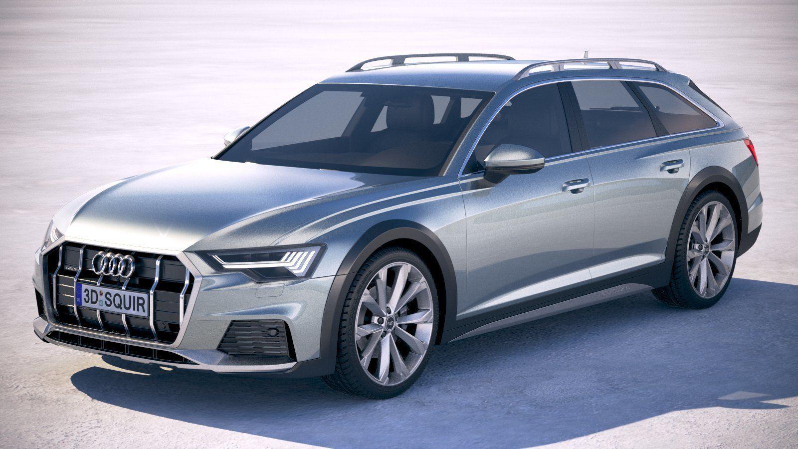 3D Audi A6 Avant Allroad 2020 | CGTrader