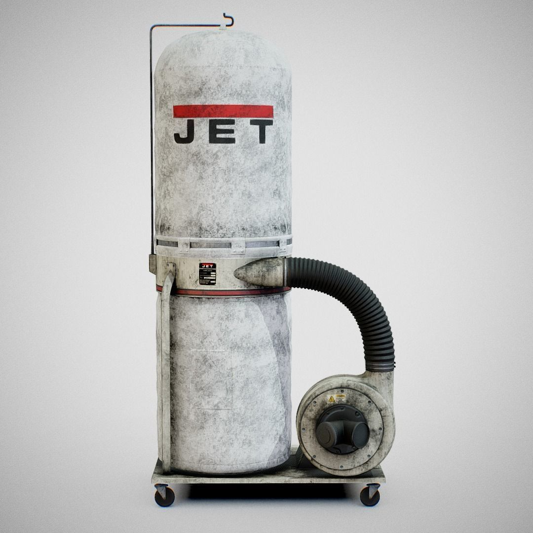 Sawdust Collector - JET 01 Dirty
