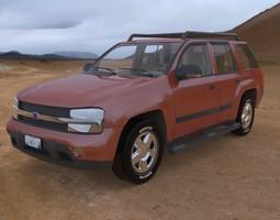 Trailfinder SUV 3D Model