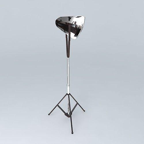chicago lamp 3d model max obj mtl 3ds fbx stl skp 1