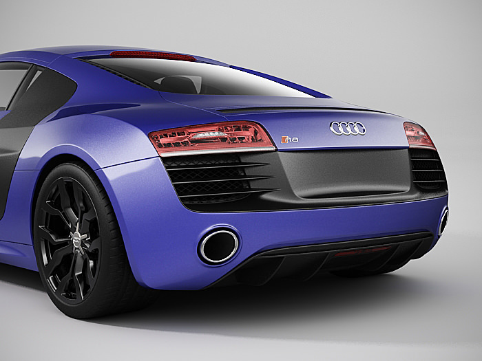 Audi R8 2014 Models audi r8 2014 3D...